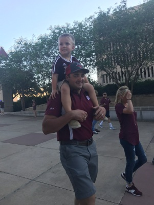 Cannon's first aggie game