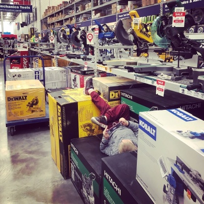 cannon relaxing at lowes